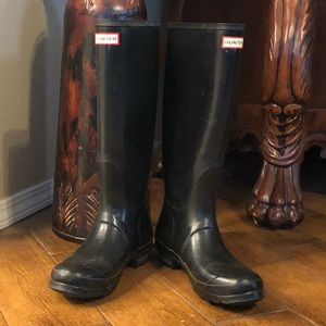 Hunter Buckle-Strap Rainboots